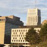 Akron, OH skyline